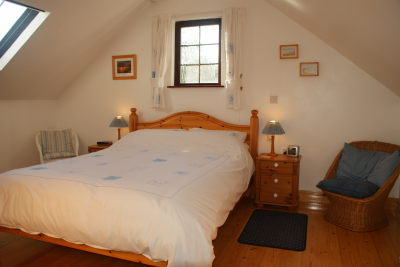 Upstairs Bed in self cattering holiday cottage